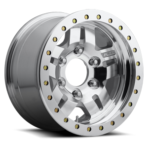Fuel 1-Piece Wheels Anza Beadlock - D116 6 Raw Machined