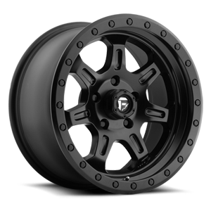 JM2 - D572 Matt Black 5 lug
