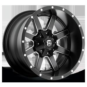 Maverick - D538 Black & Milled 5 lug