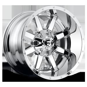 Fuel Deep Lip Wheels Maverick - D536 5 Chrome