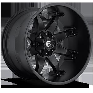 Octane - D509 Matte Black 8 lug