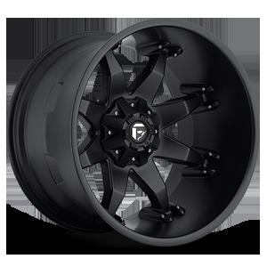 Octane - D509 Matte Black 5 lug