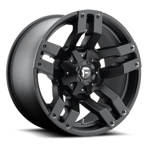 Pump - D515 Matte Black 5 lug