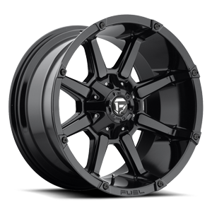 Fuel 1-Piece Wheels Coupler - D575 6 Gloss Black