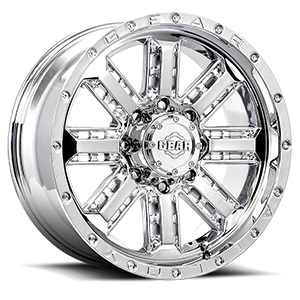 723 Nitro Chrome Plated 8 lug