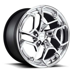 HUR-T Polished 5 lug