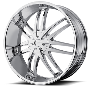 HE868 Chrome 6 lug