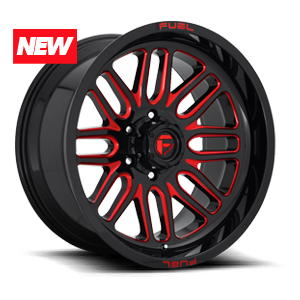Ignite - D663 5 Gloss Black w/ Candy Red