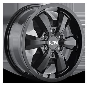 Ion Alloy Wheels 102 6 Black