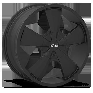 Ion Alloy Wheels 103 5 Satin Black