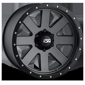 Ion Alloy Wheels 134 6 Matte Gunmetal
