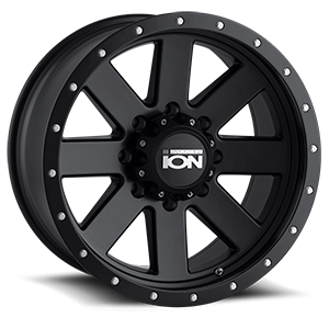 Ion Alloy Wheels 134 8 Matte Black