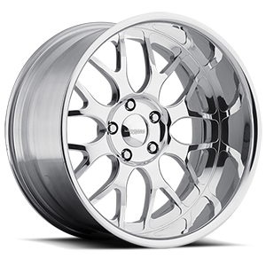 Invader Mirror Polished 5 lug