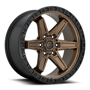 Kicker 6 - D699 20x9 ET1 | Bronze Center w/ Black Lip 6 lug