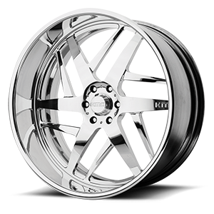 KMC Wheels KM400 6 Polished