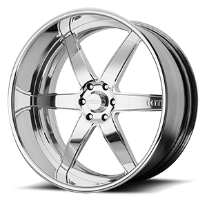 KMC Wheels KM401 6 Polished