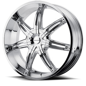 KMC Wheels KM665 Surge 5 Chrome