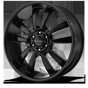 KMC Wheels KM673 Skitch 6 Satin Black