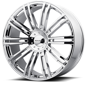 KMC Wheels KM677 D2 6 Chrome