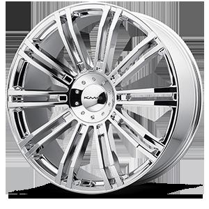 KMC Wheels KM677 D2 6 Chrome