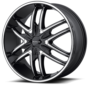 KMC Wheels KM678 Splinter 6 Gloss Black
