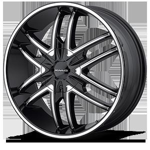 KMC Wheels KM678 Splinter 6 Gloss Black