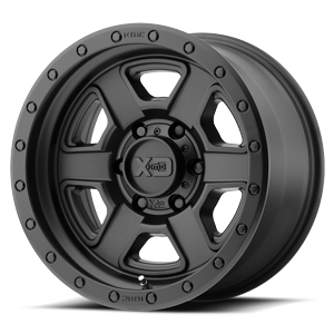 XD Series by KMC XD133 Fusion Off-Road 6 Satin Black