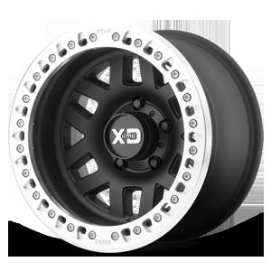 XD229 Machete Crawl Satin Black w/ Machined Lip 5 lug