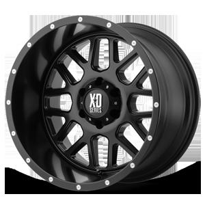 XD820 Grenade Satin Black 6 lug