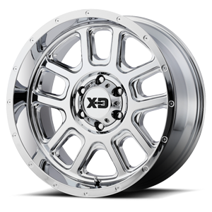 XD828 Delta Chrome 6 lug