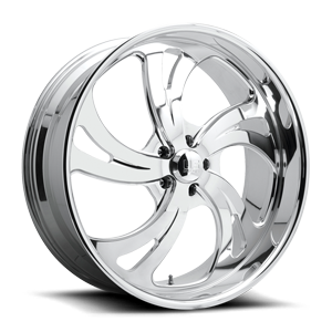 Kompressor 5 - Forged Street Polished 5 lug
