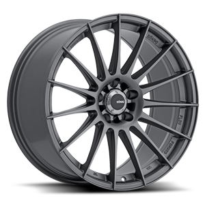 Rennform Matte Grey 5 lug