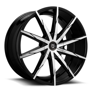 CSS-15 Black & Machined Face 5 lug