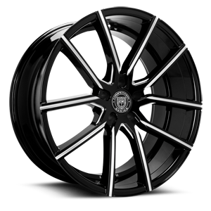 Gravity Black Milled 5 lug