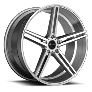 Lucca Silver 5 lug