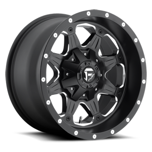 Fuel 1-Piece Wheels Boost - D534 5 Matte Black & Milled
