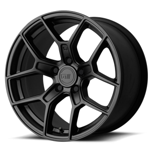 MR133 Flat Black 5 lug