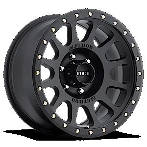MR305 - NV Matte Black 6 lug