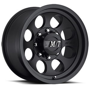 Classic III™ Black - 17x9 Satin Black w/Clear Coat 8 lug