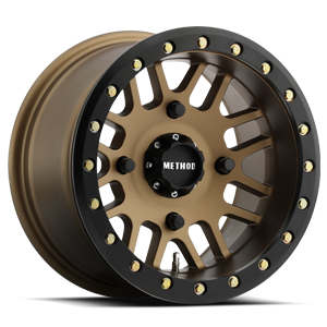 MR406 Bronze w/ Black Ring 4 lug