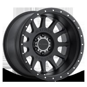 MR605 - NV Matte Black 6 lug