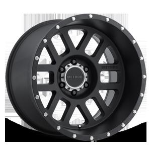 MR606 Matte Black 6 lug