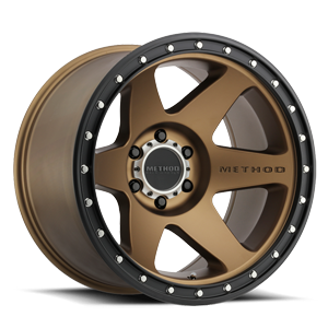 MR610 Bronze w/ Black Ring 6 lug