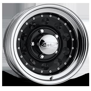 Modular (Series 94) Black/Chrome Rim 5 lug