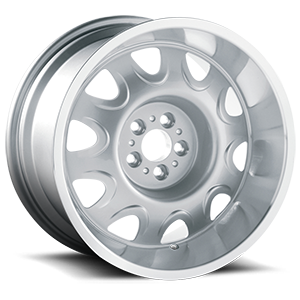Mopar Rallye Silver Machined 5 lug