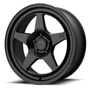 MR137 Satin Black 5 lug