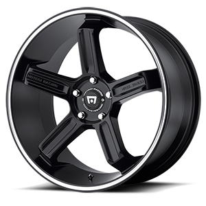 Motegi Racing MR122 5 Satin Black w/ Machined Stripe
