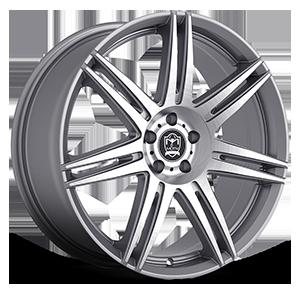 Motiv Luxury Wheels 414 Modena 5 Anthracite with Brushed Face