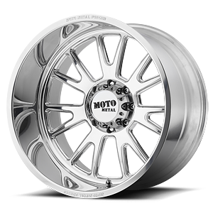 MO401 Polished 8 lug