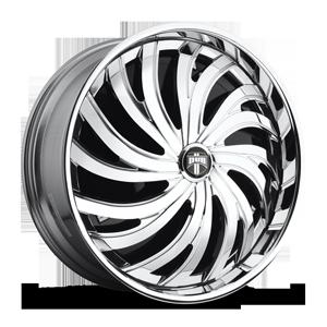 DUB Spinners Cyclone - S705 5 Chrome